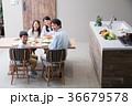 食事 夕飯 家族の写真 36679578