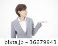 女性 ビジネス 笑顔の写真 36679943