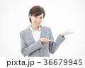 女性 ビジネス 笑顔の写真 36679945