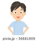 介護士 介護福祉士 男性 イラスト 36681909