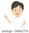 介護士 介護福祉士 男性 イラスト 36682774