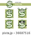 ドル マンガ ベクタのイラスト 36687516