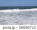 荒波 日本海 白波の写真 36690712