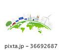 世界 エネルギー 工場のイラスト 36692687
