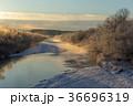 北海道 鶴居村 樹氷の写真 36696319