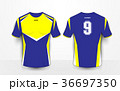 シャツ Yシャツ デザインのイラスト 36697350