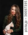 若い 若 女の写真 36697395
