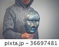 仮面 男性 人物の写真 36697481