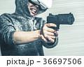 シューティングゲーム VR 銃の写真 36697506