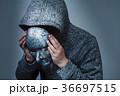 仮面 男性 人物の写真 36697515