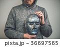 仮面 男性 人物の写真 36697565