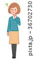 考える女性 36702730