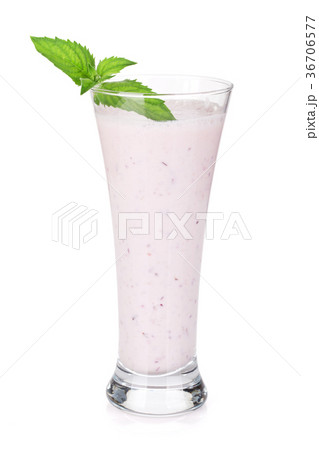 Cherry milk smoothieの写真素材 [36706577] - PIXTA