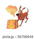 動物 わんこ 表現のイラスト 36706649