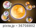 ビットコイン しゃぼん玉 気泡のイラスト 36708802