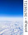雲 空 空撮の写真 36709721