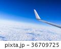 雲 翼 空の写真 36709725