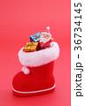 クリスマスイメージ クリスマス デコレーションの写真 36734145