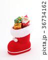 クリスマスイメージ クリスマス サンタクロースの写真 36734162