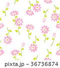 花 花柄 植物のイラスト 36736874