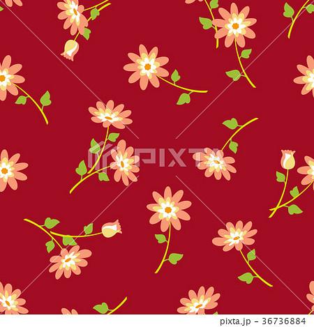 シームレスな花柄 36736884