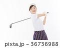 ゴルフ ゴルファー 女性の写真 36736988