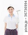ゴルフ ゴルファー 女性の写真 36736994
