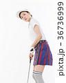 ゴルフ ゴルファー 女性の写真 36736999
