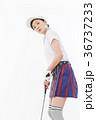 ゴルフ ゴルファー 女性の写真 36737233
