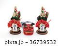 門松 正月飾り 正月イメージの写真 36739532