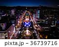 札幌市 都市風景 夜景の写真 36739716