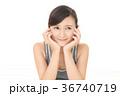 女性 人物 笑顔の写真 36740719