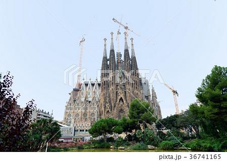 スペイン バルセロナ サグラダファミリア 36741165