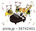 音楽 合奏 楽器のイラスト 36742401