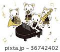 音楽 合奏 楽器のイラスト 36742402