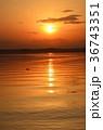夕日 太陽 日没の写真 36743351