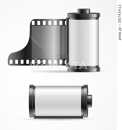 Realistic 3d Detailed Camera Film Roll Cartrige 36743411