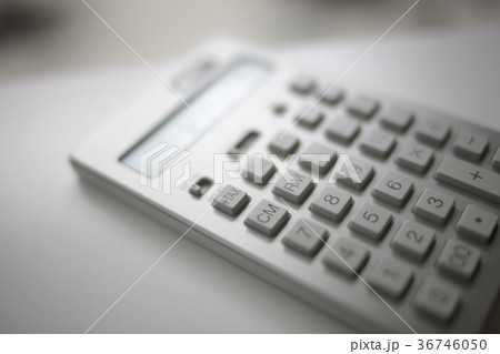 電卓イメージ permng 文房具 写真素材 36746050