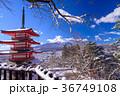 富士山 忠霊塔 浅間神社の写真 36749108