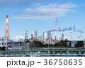 四日市の工場と煙突 36750635