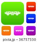 鉄道 ベクトル 電車のイラスト 36757330