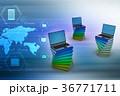 PC ノートパソコン 職業のイラスト 36771711