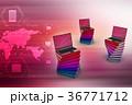 PC ノートパソコン 職業のイラスト 36771712