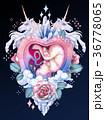 ベビー 赤ちゃん 水彩画のイラスト 36778065