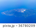 伊豆大島 空撮 36780209