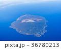 伊豆大島 空撮 36780213