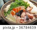 鍋 鍋物 食材の写真 36784639
