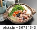 鍋 鍋物 食材の写真 36784643