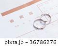 結婚指輪 指輪 結婚の写真 36786276