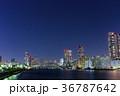 夜景 都会 隅田川の写真 36787642